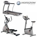 Horizon Cardio Package 1: Elite T4000 Folding Treadmill, Elite E4000 Elliptical Trainer & Elite U4000 Cycle