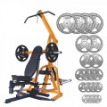 Powertec Workbench Levergym & Body Power 165kg Olympic Disc Kit