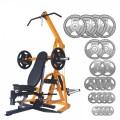 Powertec Workbench Levergym & Body Power 165kg Olympic Disc Kit