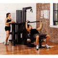 Vectra On-Line 1650 Gym (Black Frame & Upholstery)
