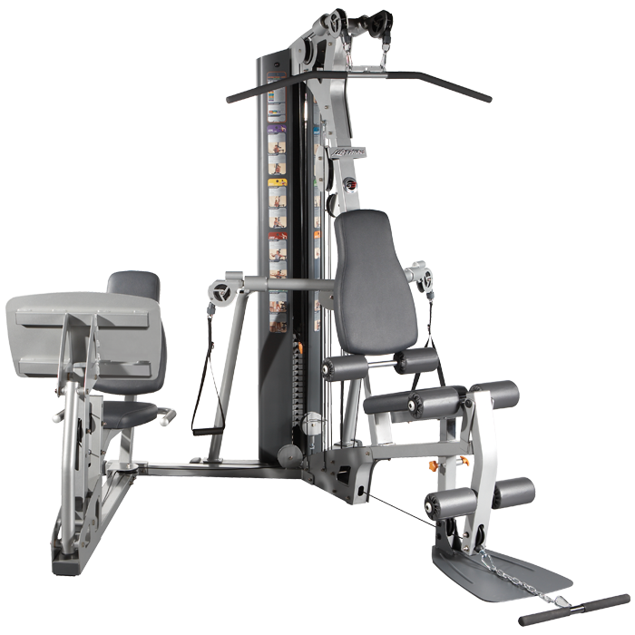 Life fitness g cable motion gym with leg press
