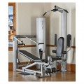 Vectra 1450 Gym (Silver Frame/Black Trim)