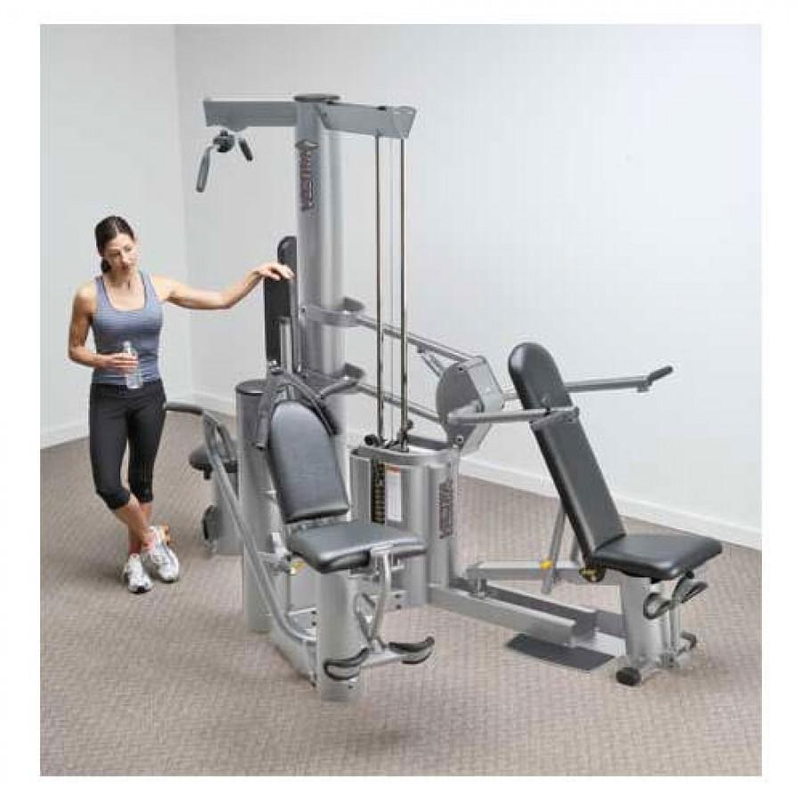 Vectra vx multi gym silver frame black upholstery