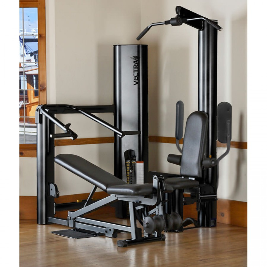 Vectra gym black frame trim