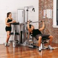 Vectra On-Line 1650 Gym (Sterling Silver Frame / Black Upholstery)