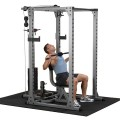 Body-Solid Commercial PowerRack & Selectorised Lat Attachment