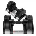Body Power Revolution Adjustable Dumbbell (2-20Kg) Pair