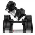 Body Power Revolution Adjustable Dumbbell (2-20Kg) Pair