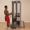 Body-Solid Dual Cable Column System (2 x 310lb Stacks)