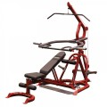 Body-Solid Corner Leverage Gym and Flat Incline Decline Bench